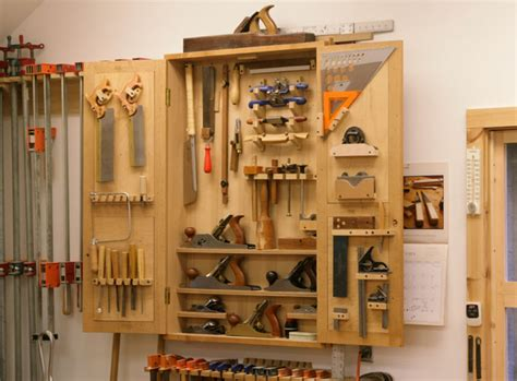 Wooden Tool Storage Cabinet Plans by New Tool Cabinet Packs In A Lot Of Storage Finewoodworking