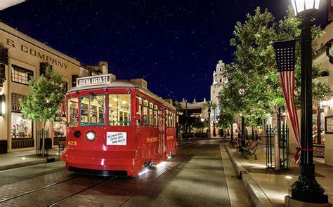 Make Way For Marvel Land... Disneyland's Red Car Trolley ...