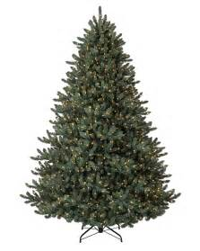 9 Artificial Noble Fir Christmas Tree by 9 Ft Led Pre Lit Blue Noble Spruce Artificial Christmas