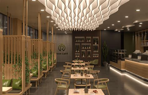 Discover the world's most incredibly designed coffee shops and see why these spots all create serious buzz. Modern Cafe Design - Rock Cafe   Comelite Architecture Structure and Interior Design   Archello