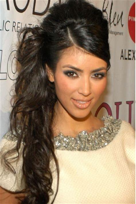 Peinados Kim Kardashian