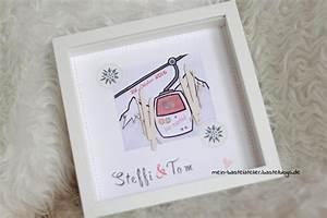 Ribba Rahmen Hochzeit : geldgeschenk zur hochzeit ribba rahmen skifahrer gondel winter diy paperlovedesign hochzeit ~ Watch28wear.com Haus und Dekorationen