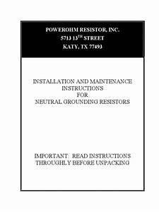 Ngr Installation Guide