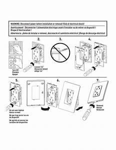 Legrand Radiant U00ae Screwless Wallplates Guide D U0026 39 Installation