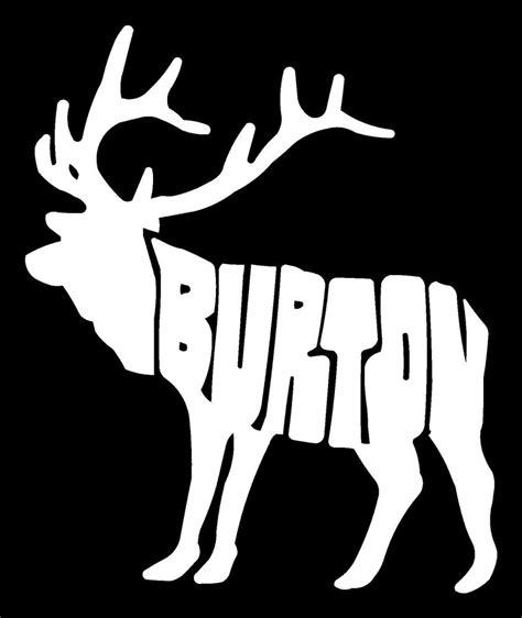 Burton Sticker Moose Logo Very Rare All Colors Available 6 ...