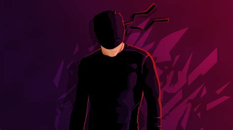 Daredevil Minimalism Hd, Hd Superheroes, 4k Wallpapers