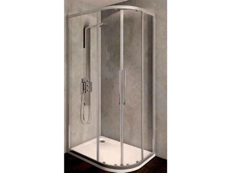 box doccia kubo box doccia angolare in vetro temperato con porta