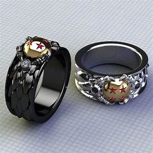 dragon and his ball ring ring for him upscale by With dragon ball z wedding ring for men