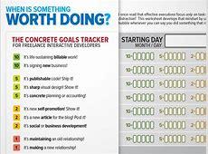 The Concrete Goals Tracker Dave Seah