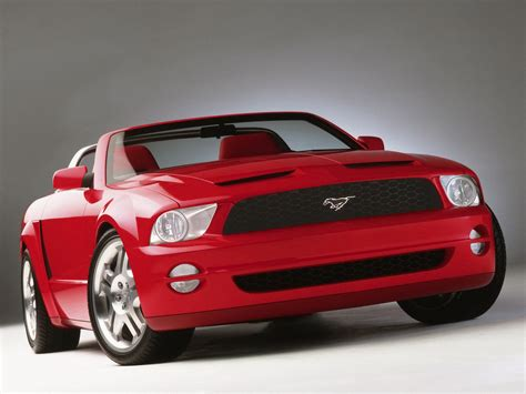 Ford Mustang Gt Concept Convertible