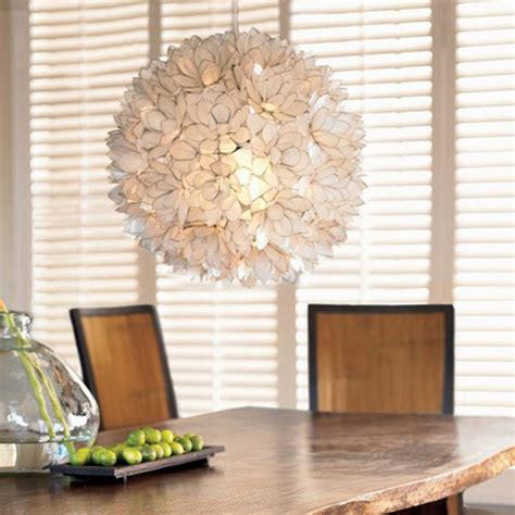 buy the lotus flower chandelier white large