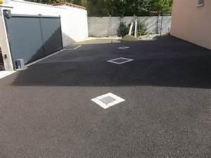 amenagement allee de garage With delightful allee pour voiture dans jardin 7 un beton drainant et colore pour les sols draincolor