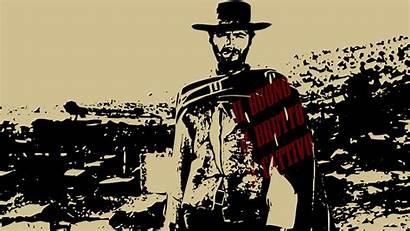 Ugly Bad Western Eastwood Clint Desktop Cowboy