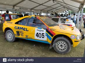 Peugeot 405 T16 by Peugeot 405 T16 Dakar Rally Car At The 2009 Goodwood