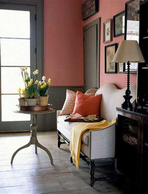 Pink Living Room Interior Design Furniture Decor Ideas by 15 Modern Interior Decorating Ideas Blending Gray And Pink