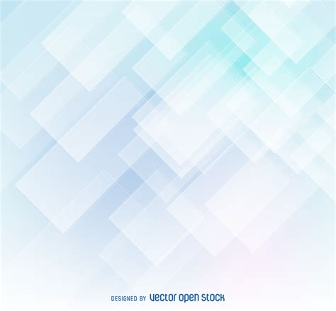Shapes Background Abstract Background In Tones Of Soft Blue And White