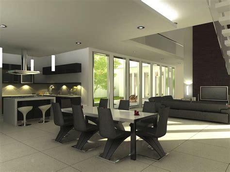 exellent home design modern dining room