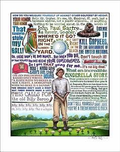 "Cinderella Story- Caddyshack tribute print- 11""x14"" signed ..."