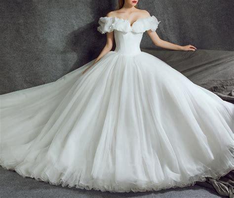 Cinderella Wedding Dresses Ball Gowns 2018 Bridal