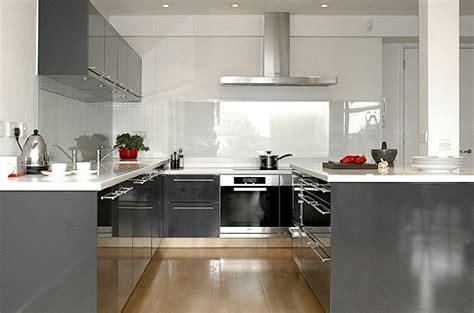 cuisine blanc gris moderne 3 photos bruun design