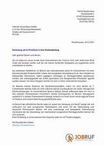 Bewerbung Auf Stellenausschreibung : bewerbung f r ein praktikum im studium jobruf ~ Orissabook.com Haus und Dekorationen