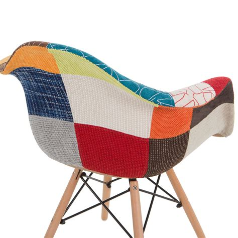 patchwork stoel stoel wooden arms patchwork patchwork stoelen daw
