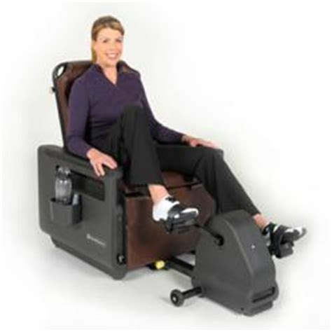 Recumbent Bike Desk Chair by New Chairmaster Fitness Chair Lets Users Sit And Get Fit