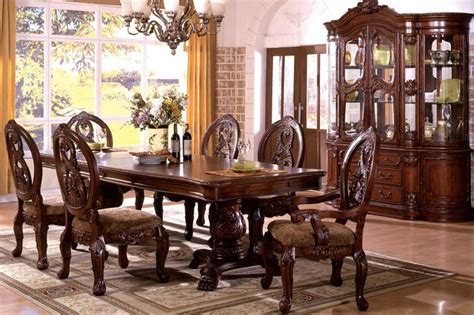 Ortanique Glass Dining Room Set by Tuscan Dining Room Set Marceladick