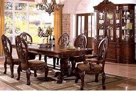 Antique Tuscan Formal Dining Room Tuscan Style Dining Table Furniture SayLeng SayLeng