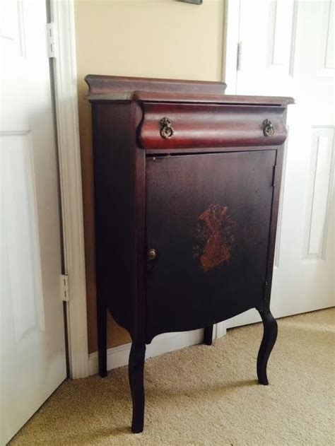 antique record cabinet 1000 images about furniture refurbished on