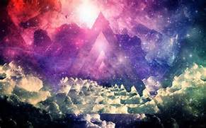 Pinterest     The world   s catalog of ideas  Hipster Triangle Galaxy Wallpaper