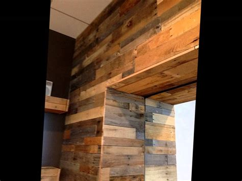 rustic wall treatments pallet wood wall panels