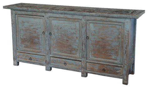 Large Sideboards And Buffets by Consigned Large Antique Blue Sideboard Style