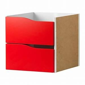 Ikea Kallax Einsatz : kallax einsatz mit 2 schubladen rot ikea ~ Sanjose-hotels-ca.com Haus und Dekorationen
