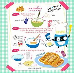 Recette De Gateau Pour Enfant : recette de gaufres ~ Melissatoandfro.com Idées de Décoration