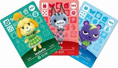 Amiibo Crossing Animal Cards Series June Nintendo