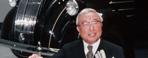 eiji toyoda japan auto industry visionary dies