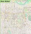 Map Of Ann Arbor | Map encdarts