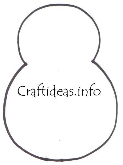 snowman template snowman craft patterns preschool crafts