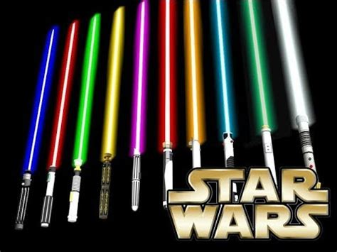 all lightsaber colors all lightsaber colors and their meanings
