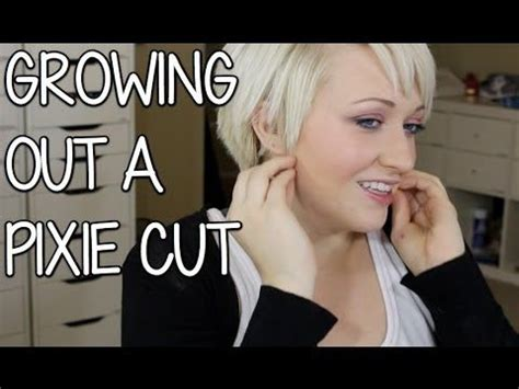 Hairstyles While Growing Out Pixie Cut by Growing Out A Pixie Cut How To Cut Your Hair Awesome