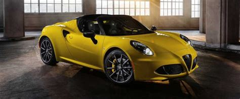Alfa Romeo Coming To Us by 2019 Alfa Romeo 4c Spider Coming To The Us Release Date