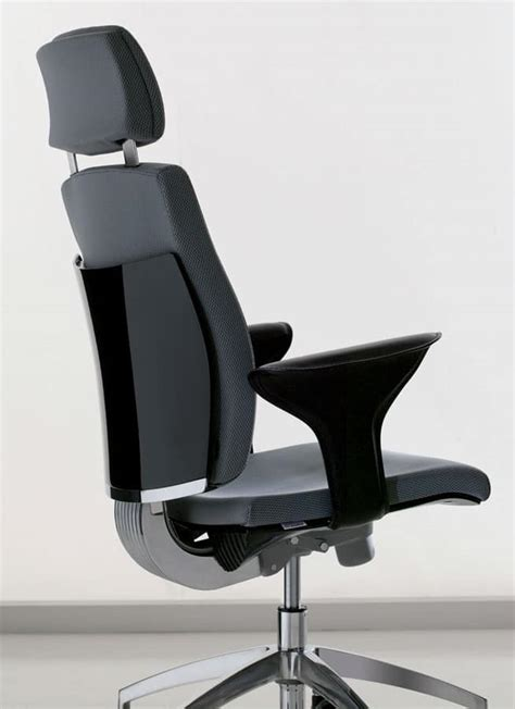 office task chair with adjustable lumbar support idfdesign