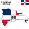 Dominican Republic Flag Map   Dominican republic flag ...