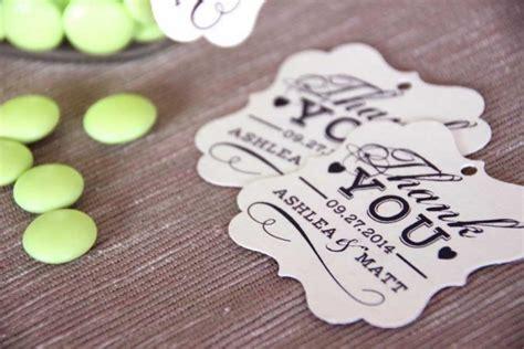 printable wedding favor tag thank you swing tag diy