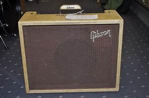 VINTAGE 1960 Gibson GA-18 Explorer Amp!   Reverb