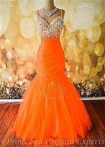 Best 25 Orange prom dresses ideas on Pinterest