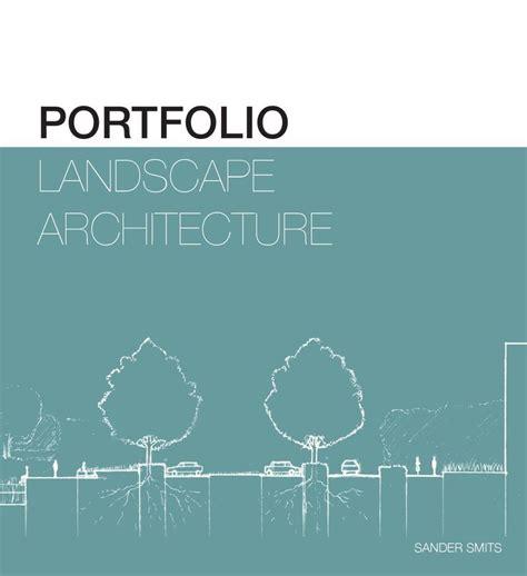13243 landscape architecture portfolio cover portfolio landscape architecture landscape architecture