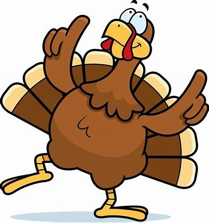 Turkey Thanksgiving Clipart Dancing Clip