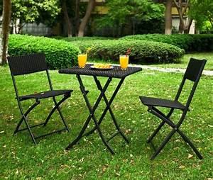 Table Chaise Balcon : sobuy ogt02 lot de 1 table 2 chaises pliable salon de jardin ensembl ~ Teatrodelosmanantiales.com Idées de Décoration